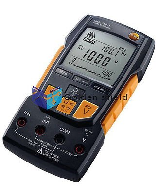 Testo 760-3 Digital Multimeter 0590 7603 Voltage Range Up to 1000V New