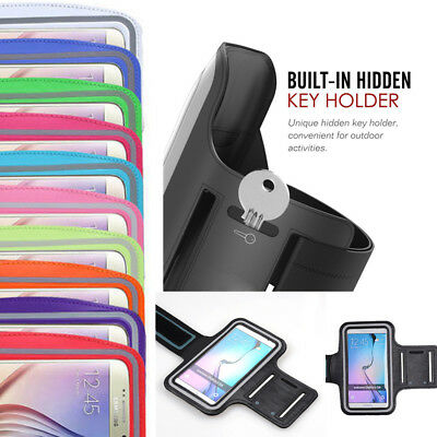 For Samsung Note 8 S8 Plus Sports Running Jogging Gym Arm Belt Case Cover Holder