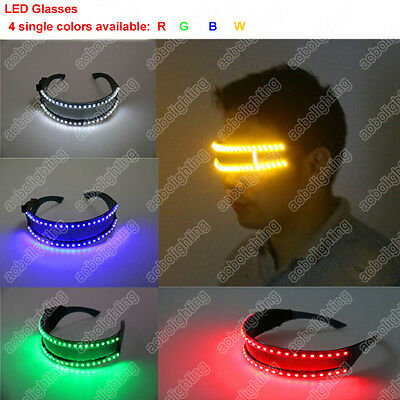 48 LEDs Stage Lights Glasses Laser Glasses Goggles DJ Nightclub Party Dancing