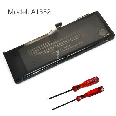 "100% Genuine Original Apple A1382 Laptop Battery Macbook Pro 15"" A1286 2011 2012"