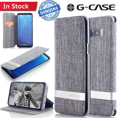Leather Card Slot Shockproof Wallet Case Flip Cover F Samsung Galaxy Note 8 S8