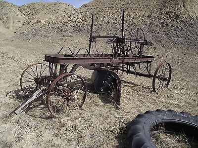 Antique horse drawn  road grader