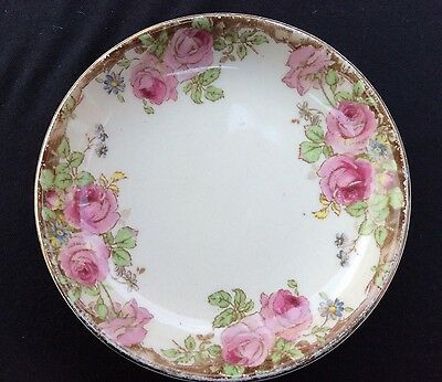 Very Old Vintage Royal Doulton -English Rose D6071- Butter / Pin Dish