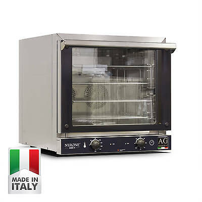 Commercial Convection Oven fits 4 Trays 400 x 350mm bakeryTrays Made in Italy!