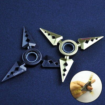 Portable EDC Fidget Spinner Rotary in Hand Bearing Rotating Darts Focus Toy