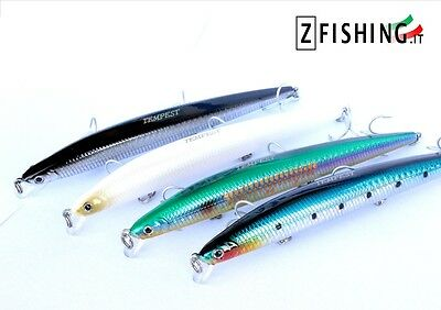 ARTIFICIAL BAIT TEMPEST MINNOW 14,8 CM 20 GR sea spinning greenhouse leccia bass