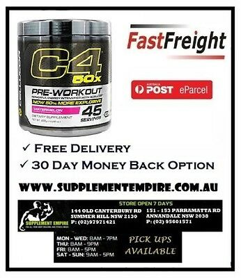 New Cellucor C4 50X 45 Servings Pick Up Available In Sydney
