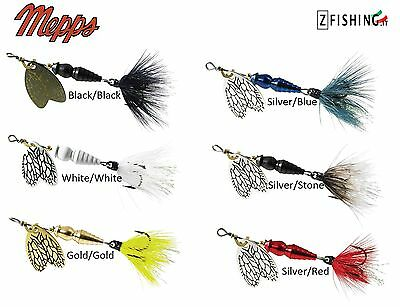 TEASPOON MEPPS THUNDER BUG rotating spinning 2,5 4gr lake river bass trout area