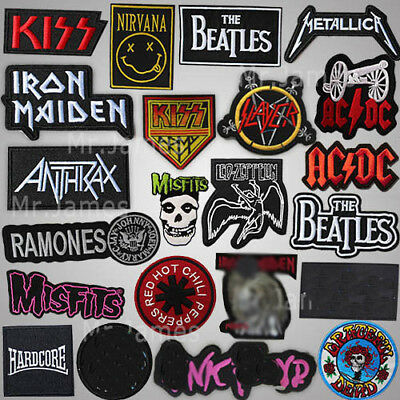 Gift Embroidered Metal Rock Punk Indy Music Band Sew Iron On Patch Applique