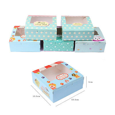 Halloween Christmas Thanksgiving Wedding Cake Boxes Dessert Candy Gift Packaging