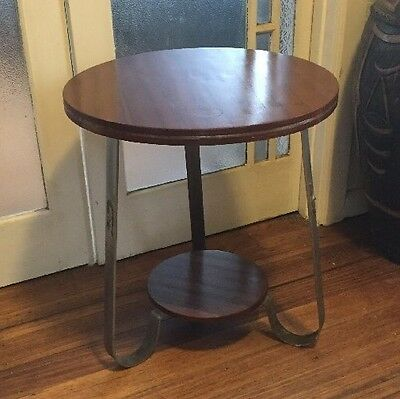 Art Deco Round Occasional Table