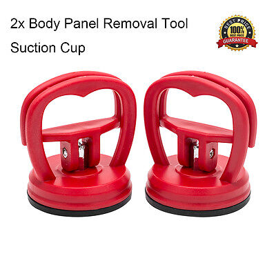 2 x 5.5cm Dent Puller Body Panel Removal Tool Car Van Suction Cup Glass Metal UK