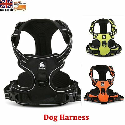 Truelove No-pull Dog Harness 3M Reflective  Adventure Pet Vest + Padded Handle