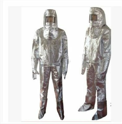 Aluminized Suit 1000 Degree Heat Resistant Thermal Radiation New Fireproof O