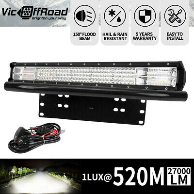 23inch Cree Led Light Bar Spot Flood Combo Driving Offroad 4x4 4WD 23""