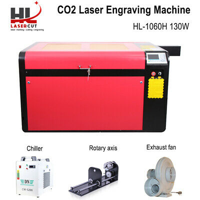 Rate 130W Peak 160W Co2 Laser Cutter Machine Laser Engraver MDF Wood Acrylic