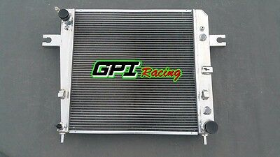 56mm aluminum alloy radiator for Jeep Liberty KJ 3.7L V6 A/T 2002-2006 03 04 05