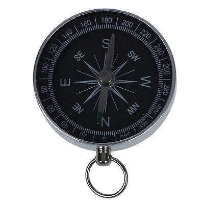 New Mini Protable Aluminum Camping Compass Hiking Hiker Navigation BF