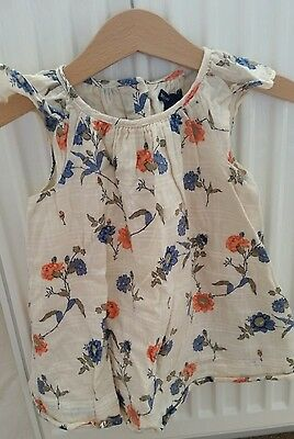 Baby Gap, girls dress with matching diaper cover, 6-12 months, EUC