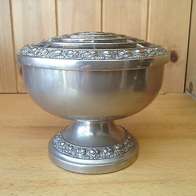 Vintage Silver Plated Ianthe Rose Bowl