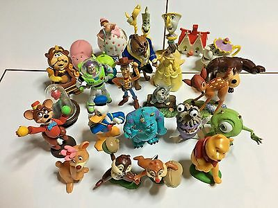 Disney character figures 24 sets No.7 Beauty and the Beast, Monsters, Inc. etc.