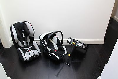 Recaro baby sear - young profi plus and young expert plus with isofix base