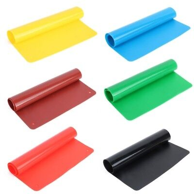 Soft Silicone Pastry Bakeware Baking Tray Oven Rolling Kitchen Mat Sheet Cooking