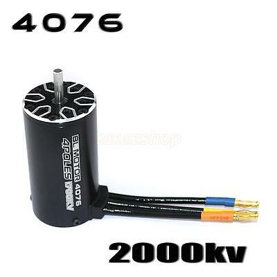 4076 Sensorless Brushless Motor 1700/2000 / 2250KV für 1/8 RC Cars