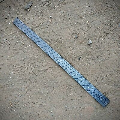 Damascus Knife.  Custom Handmade Cable Twist Patter ( Billet)  27 Inches