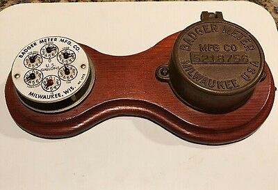 Vintage Badger Water Meter Steampunk Collectible  ***GREAT GIFT IDEA FOR DESK!