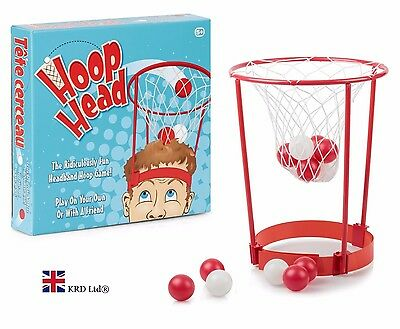 HOOP HEAD GAME Family Fun Kids Party Indoor Office Basketball Birthday Gift Box