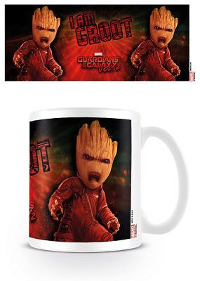 Guardians Of The Galaxy Vol.2 Angry Groot Coffee Mug Tea Cup Official Ceramic