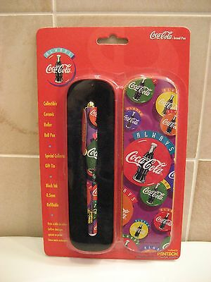 Coca-Cola 1995 Collectable Ball Point Pen, New in Package!
