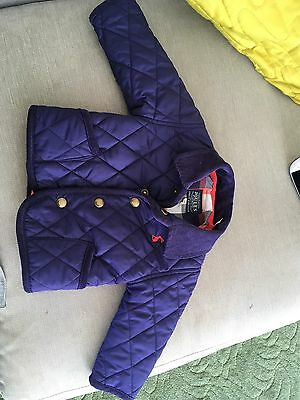 Joules Coat, Baby Size 0-3 Months