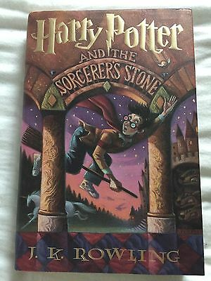 Harry Potter And The Sorcerer's Stone 1st American Edition Hardcover