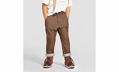 Genuine Kids by OshKosh Toddler Boys' Chino Pant Brown Patina, Choose Size, C13