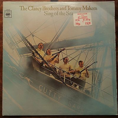 The Clancy Brothers & Tommy Makem - Sing of the Sea (1968 LP. CBS 63393)