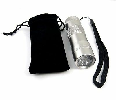Pet Cat Dog Urine Detector UVBlacklight 12v Flashlight Precision-Quality