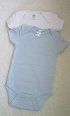 Baby BodySuits SuperSoft Cotton Pack of 2.Small. .3-6months