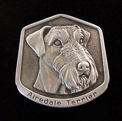 Airedale Terrier Fine Pewter Dog Breed Ornament