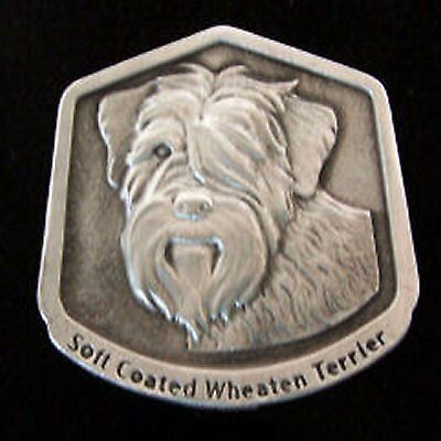 Soft Coated Wheaten Terrier Fine Pewter Dog Breed Ornament