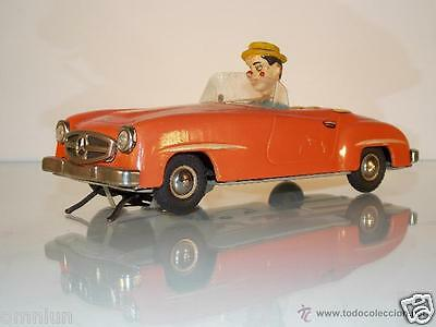 Antiguo Mercedes 190 Gama troxi // no  Joustra JRD paya // tin toy car