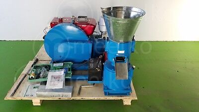 COMBO PELLET MILL 22HP and HAMMER MILL 22HP for Wood. USA stock fast shiping