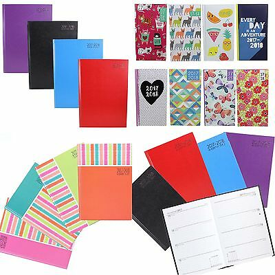 2017-2018 Academic Week To View Hardback Student Diary - Slimline, A5 or A4