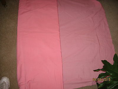NEW Fabric 10 yards cotton polyester broadcloth pink/salmon color