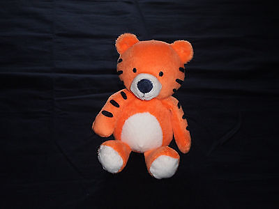 Carter's Just One You Plush Orange Tiger Rattle Baby Lovey Soft Stuffed Toy