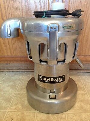 NUTRIFASTER 350 Commercial Restaurants Centrifugal Fruit & Vegetables Juicer