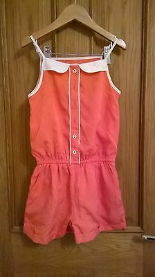 Girls shorts jumpsuit age 5-6 years by M&S
