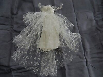 Vintage Original Barbie #972 Wedding Day Set Wedding Gown Dress TLC