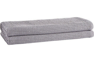 NEW Sheridan Outlet Cotton Waffle Weave Blanket - Grey